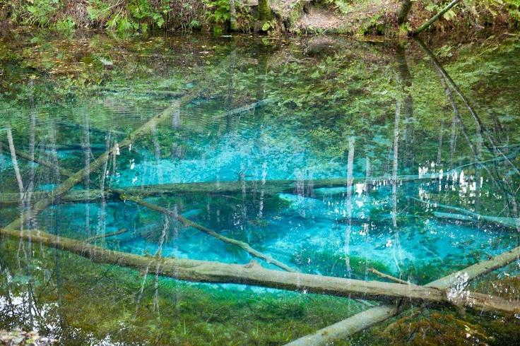 北海道 摩周湖・神の子池