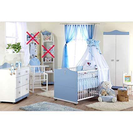 Babyzimmer Kleiner Prinz Schrank Kommode, Bett und