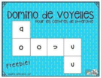 Voici un jeu parfait pour vos centres de littératie à la maternelle et au jardin d'enfants. Ce produit permettra à vos élèves d'apprendre et de réviser les voyelles de la langue française. Vous n'avez qu'à imprimer et laminer les cartes de jeu afin de mettre le centre en place dans votre classe.