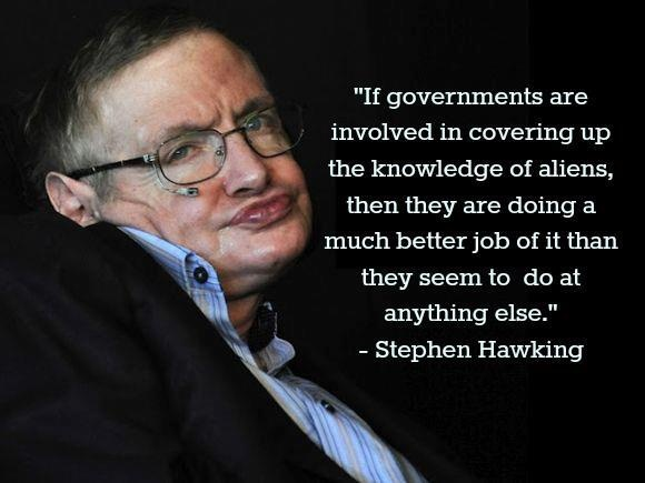 Stephan Hawking via Being Liberal fb