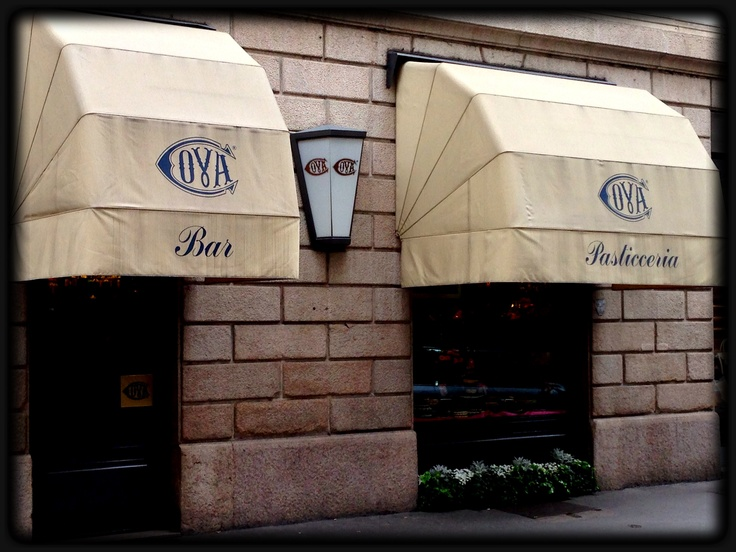 Our favorite Italian coffee place in Milan - cafe COVA - www.ibrandseurope.com - follow us on our journey