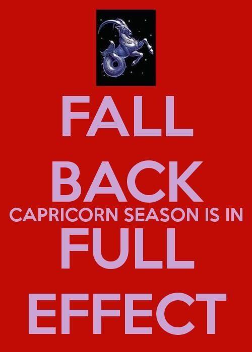 Capricorn season ♑ heyy now !