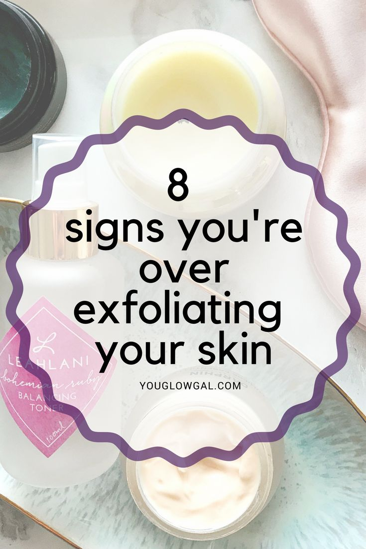 Finding a delicate balance between over exfoliating and getting just the right amount is unique to your skin. If you have an arsenal of acids, scrubs, and exfoliating tools it's important to become familiar with reading your skin, so you can avoid over exfoliating and always have that glow. If you're feeling dry and tight the culprit could be over exfoliating your skin & damaging your acid mantle. No worries though, I got your back!