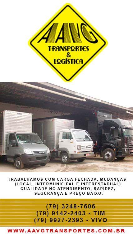 TRABALHAMOS COM CARGA FECHADA, MUDANÇAS (LOCAL, INTERMUNICIPAL E INTERESTADUAL). NOSSO DIFERENCIAL É QUALIDADE E RAPIDEZ NO ATENDIMENTO. (79) 3248-7606 (79) 9142-2403 - TIM (79) 9927-2393 - VIVO