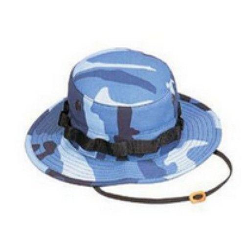 Camo Boonie Hat   Sky Blue Camo - SKY - Online Only
