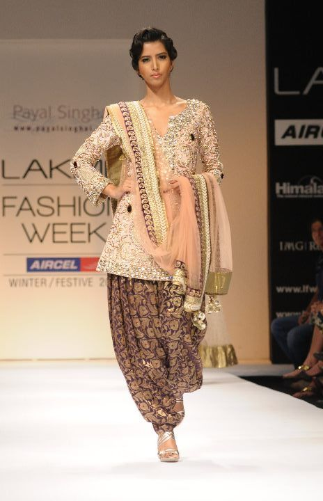 A A I N A - Bridal Beauty and Style: Designer Bride: Payal Singhal at Lakme Fashion Week 2011
