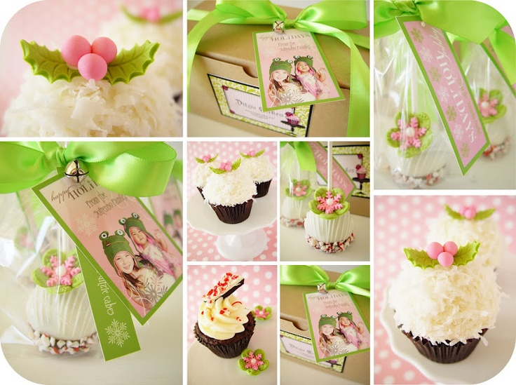 Christmas foodies   by ditziecakes.blogspot.comTruffles Pop, Holiday Gift, Green Christmas, Ditzy Cake, Holiday Cupcakes, Cake Pop, Christmas Ideas, Cupcakes Rosa-Choqu, The Holiday