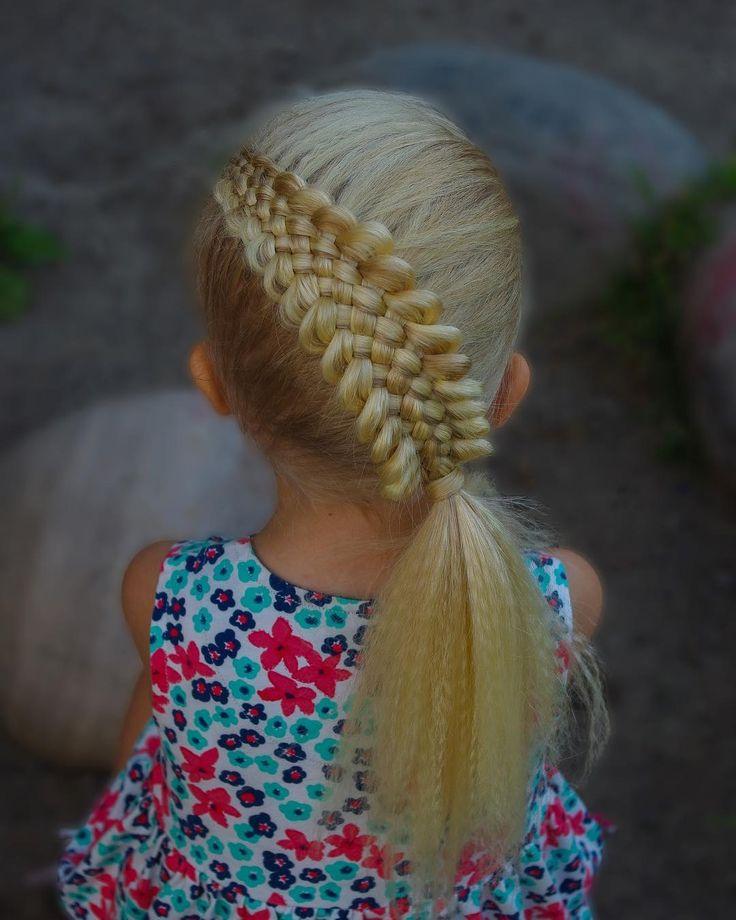 Seven strand braid into a ponytail. I micro crimped the hair and the braid turned out so much bigger than usual 😊 . . . . . #braid #braids #braided #braiding #braidideas #braidsforgirls #flette #peinado #tresse #trenza #pelo #hair #hairdo #hairstyle #hairstyles #hairideas #hairinspo #hairofinstagram #hairoftheday #hår #blondehair #cute #ponytail #nrksommer #sommer