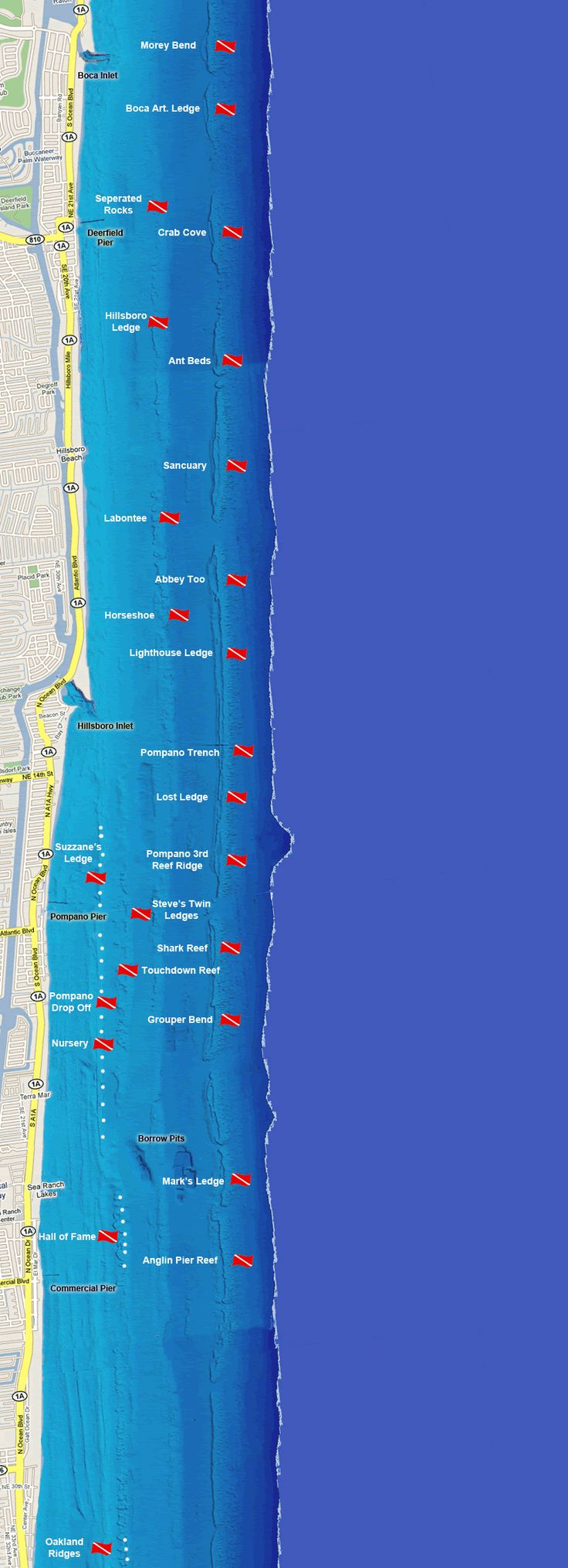 South Florida Scuba & Snorkel Dive Sites