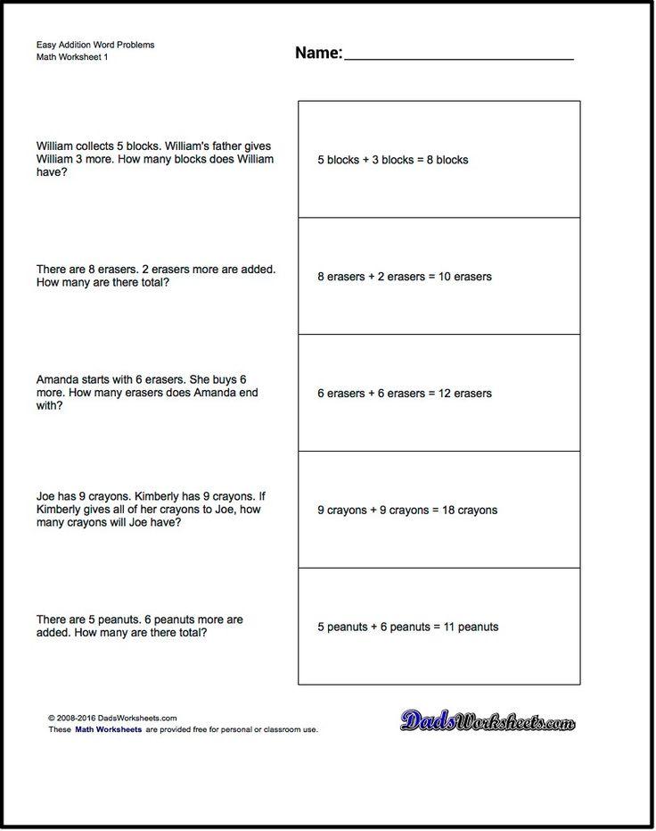 Best Addition Worksheets Images On   Addition