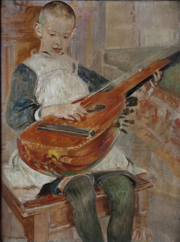 Jacek Malczewski - Portrait of his son Rafal
