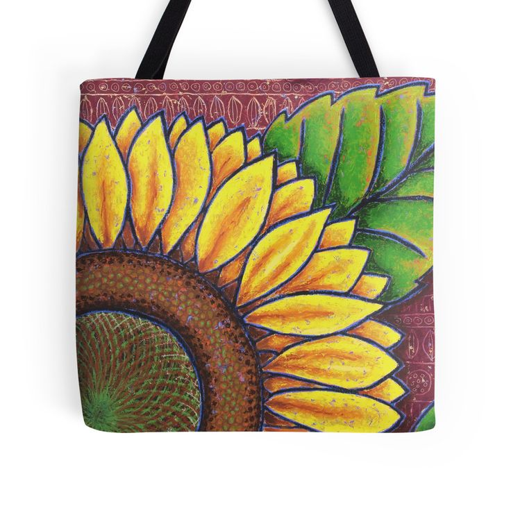 Uncle Jake's Sunflowers Tote Bag by Dorothy Siemens
