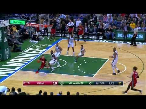 Hassan Whiteside Just Caught the Ball Mid Air From Brogdon's Layup  |Hea...