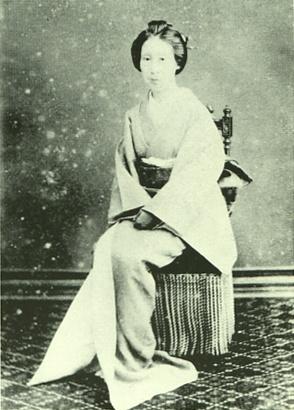 Nakane Sachi. Tokugawa Yoshinobu's concubine.