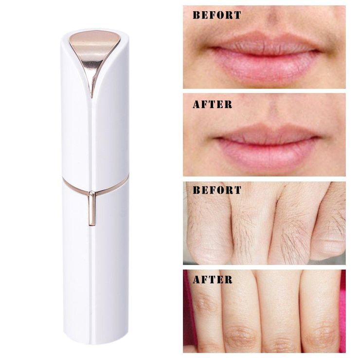 Morningsilkwig Electric Finishing Touch Flawless Hair Remover Razor Body Face Hair Removal Depilator Wax Women Painless Lipstick Shaving Tool