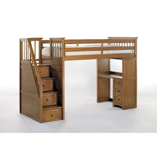 Bunk Beds With Desk And Stairs