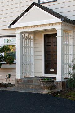 Sherwin Williams Grecian Ivory Siding Trim Greek Villa