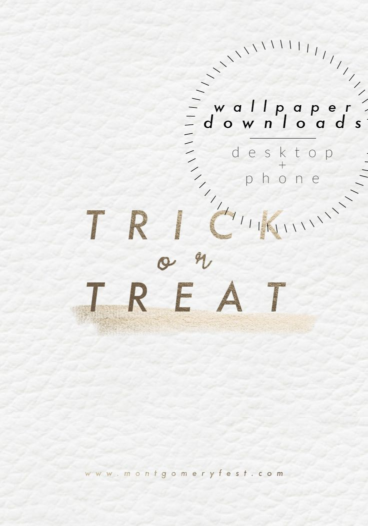free trick or treat wallpaper downloads in black or white montgomeryfest