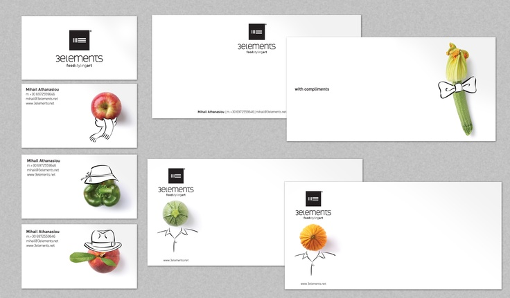 Logo and its applications_3ELEMENTS / Shortlisted at ERMIS AWARDS