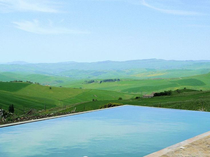 Castelbuono farmhouse rental - Fabulous private swimming pool and landscape