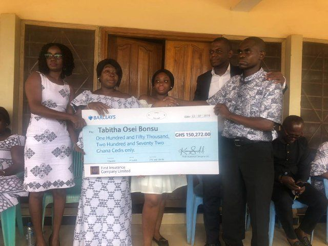 First Insurance Pays Over Gh 150k As Death Claim To Beneficiary