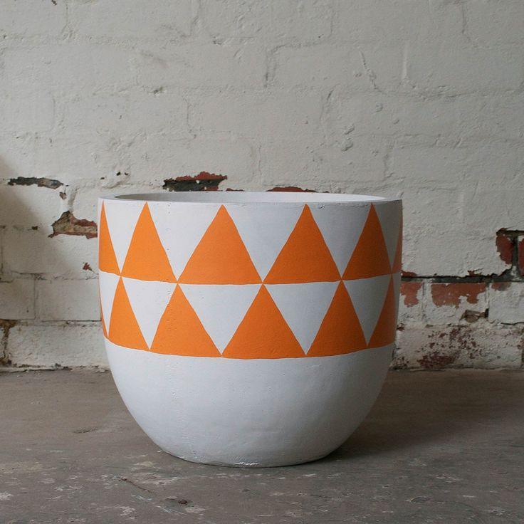 Aztec Pot - Orange | $190.00