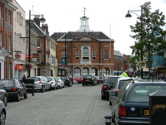 High Wycombe England - the town where my high school was located