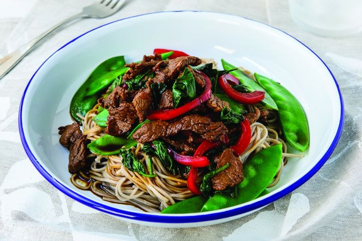 The Healthy Mummy shares the recipe for this tasty Chinese Beef And Snow Pea Stir Fry. The perfect 'healthy takeaway' meal to share with your family.