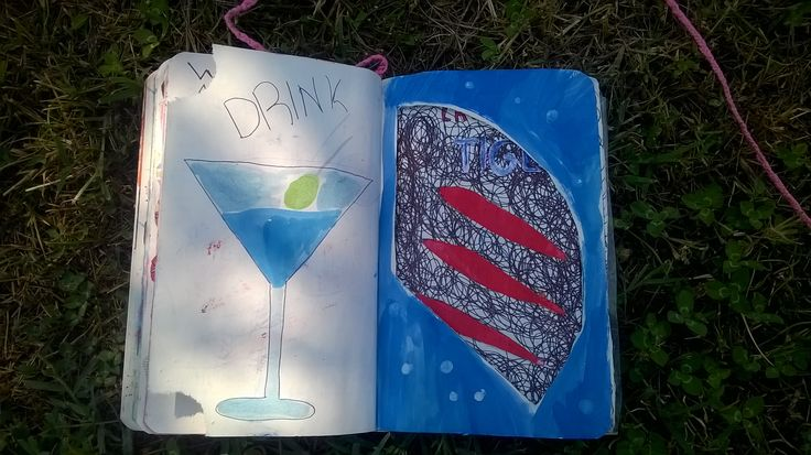 wreck this journal: MAKE A FUNNEL drink some water