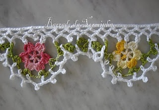 WORKSHOP OF BARRED: CROCHET - A simple barred Florido ...chart