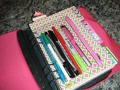 DIY planner - pen