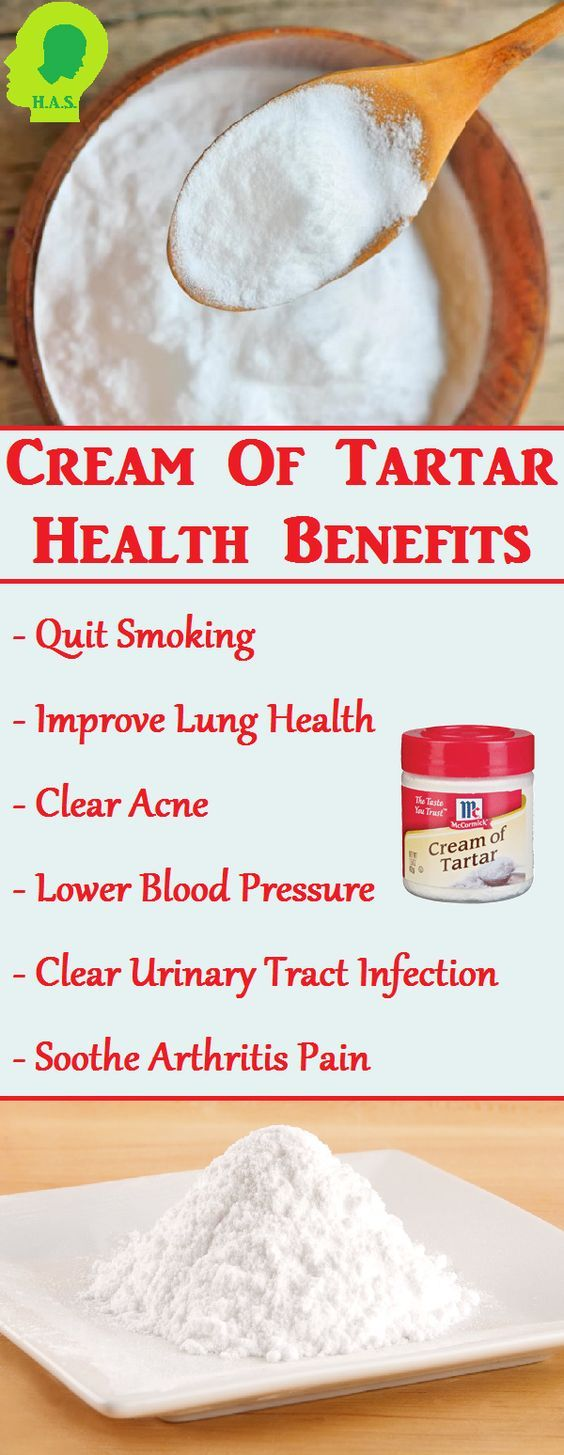 Cream of tartar is paramount if you have a smoking addiction, as it pulls the nicotine right from your system and actually makes you dislike the taste of ...