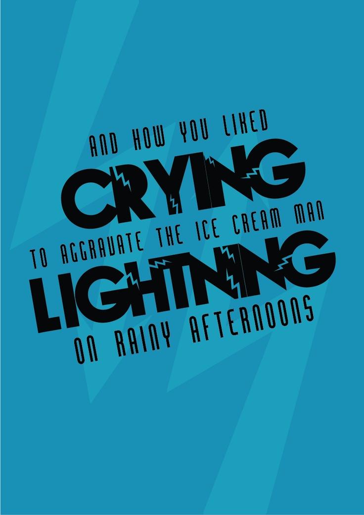 Arctic Monkeys - Crying Lightning #terapiamusical