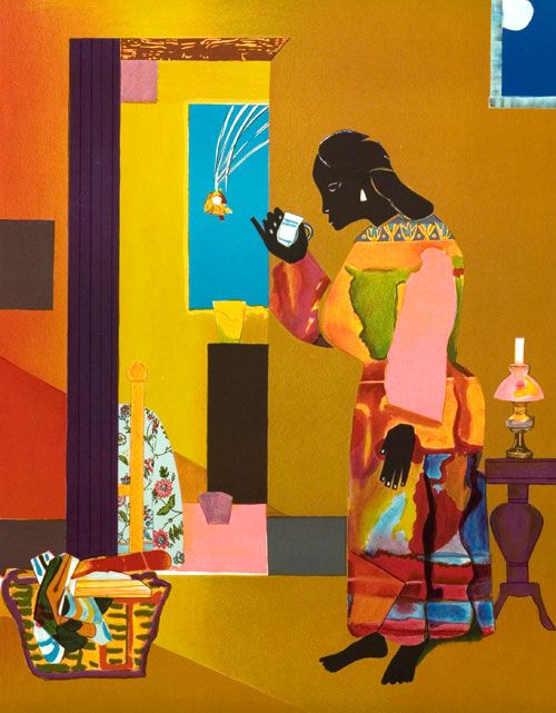 Falling Star by Romare Bearden (1979)