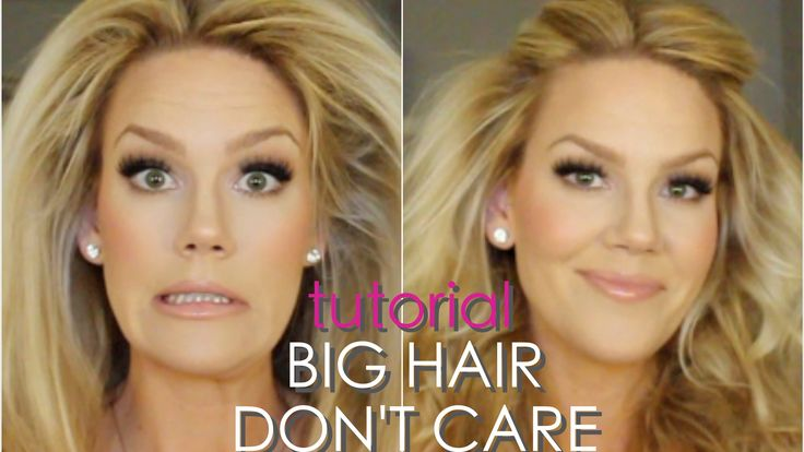 How To Get BIG HAIR! A Quick & Easy Tutorial