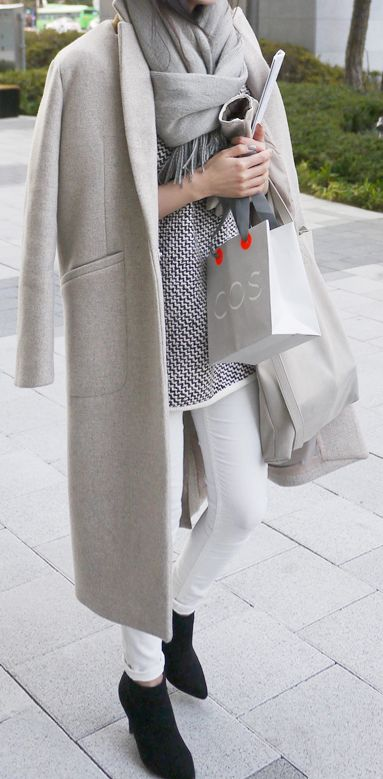 Grey & Layers - LOVE-ly (just not the white bottom though. they never stay white!)