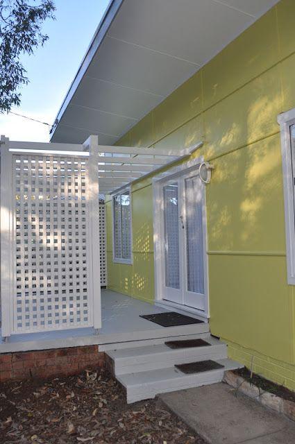 Rowantree Design: The Fibro Beach Shack 'A Yellow Beach House'