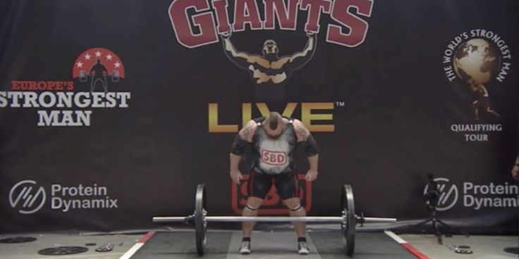 "NEW WORLD RECORD - Check out the Latest Lift from ""The Beast"" Eddie Hall at Europe's Strongest Man - https://www.boxrox.com/eddie-hall-new-world-record/"