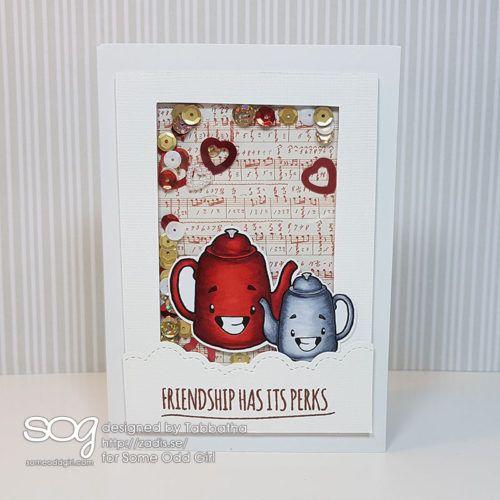 Tea pot friendship has its perks