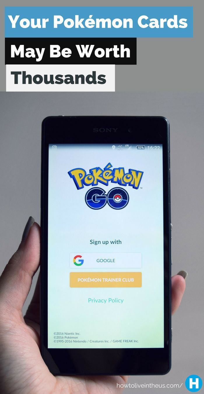 Because of Pokémon Go's popularity, the value of the old Pokémon Trading Cards have skyrocketed tremendously. Learn more now! www.howtoliveinth...