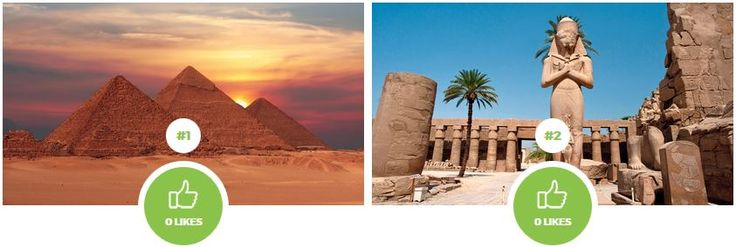 Which place in Egypt would you like to visit? Pyramids or Luxor?