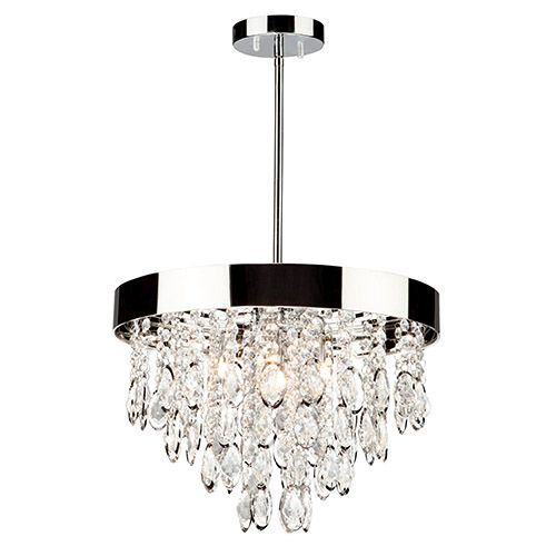 At bellacore.com -- Elegante Chrome Three Light 10 Inch Wide Mini Chandelier Artcraft Other Mini Chandeliers C