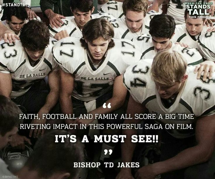 Believe stand tall inspirational movies football movies