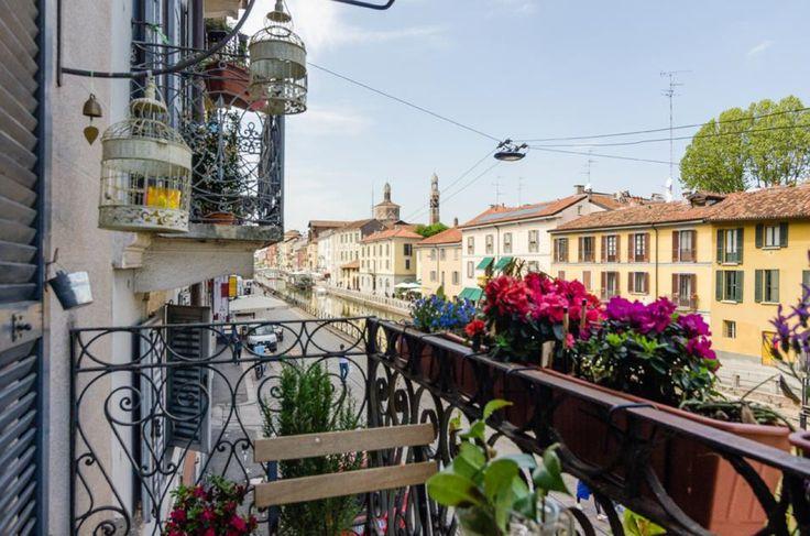 Milano, navigli. Italy