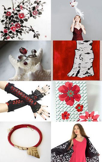 Monday in Red by Olga on Etsy--Pinned with TreasuryPin.com
