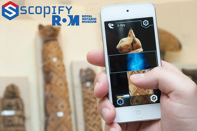 Royal Ontario Museum Launches Scopify, a Mobile App That Makes You the Curator | www.scopify.com
