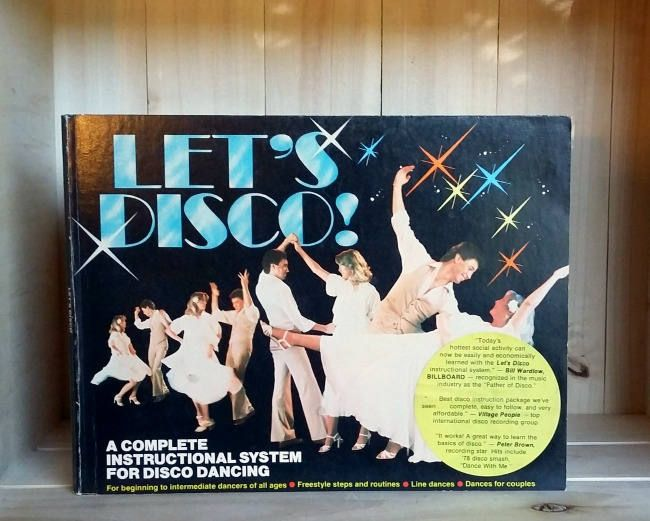 Let's Disco 1978 Vintage Dance Instruction Book K-Tel Do the Hustle Line Dancing Electric Slide Saturday Night Fever 1970s Style by CrookedHouseBooks on Etsy