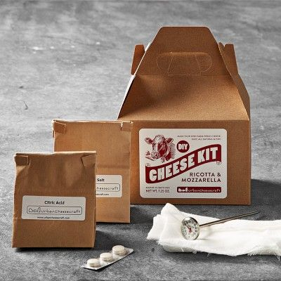 I love the DIY Cheese-Making Kits on Williams-Sonoma.com