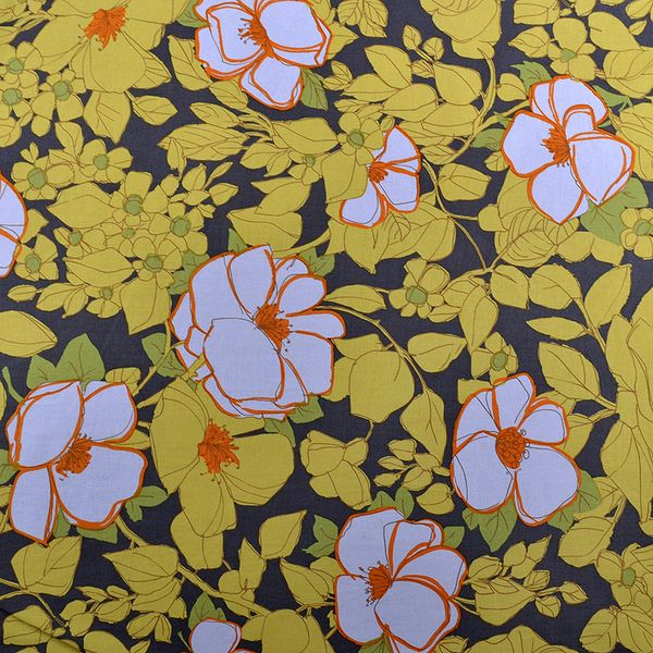 Superb tessuto - 100% cotone stampato di Lylady su DaWanda.com