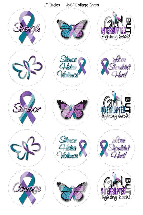 Domestic Violence Awareness Custom Order by InspiredByKarma, $0.20